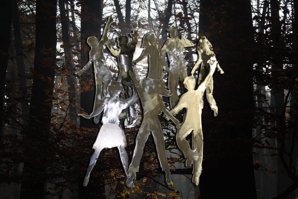 Hintergrund Variante Herbstwald