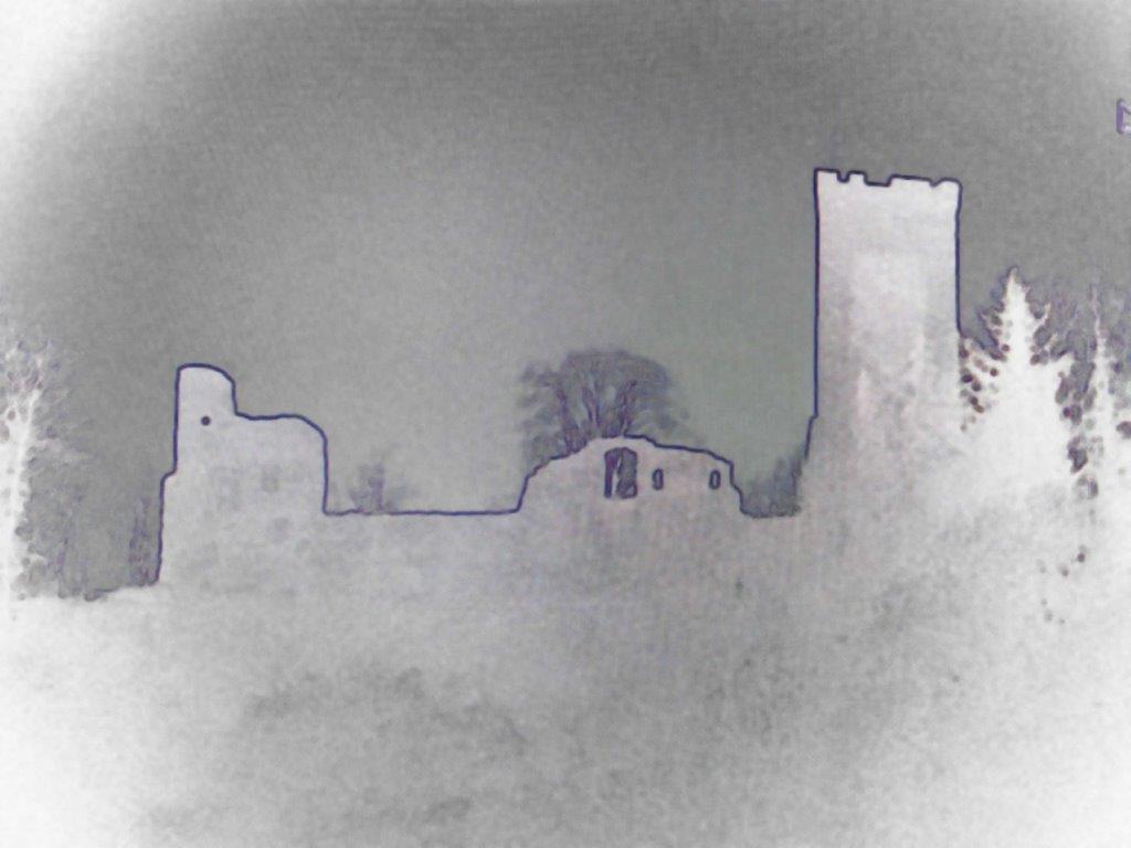 Entwurf für das Gestaltungselement Burg